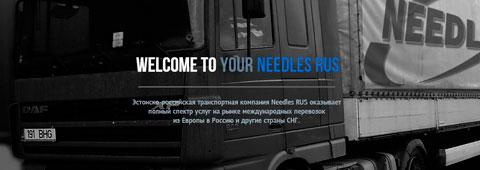 Лендинг-пейдж «Needles Rus»